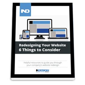Website Redesign 6 things