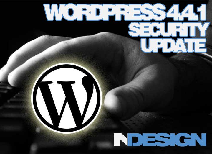 WordPress 4.4.1 Security Update