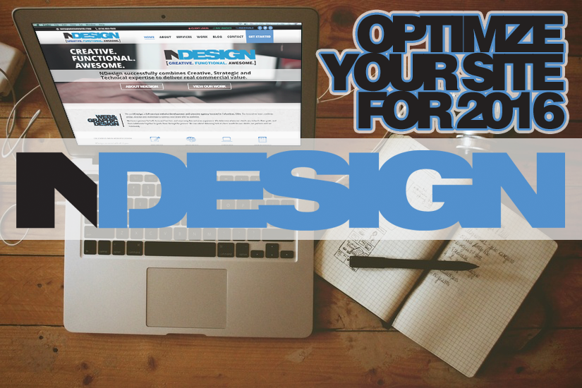Optimize Your Website for 2016